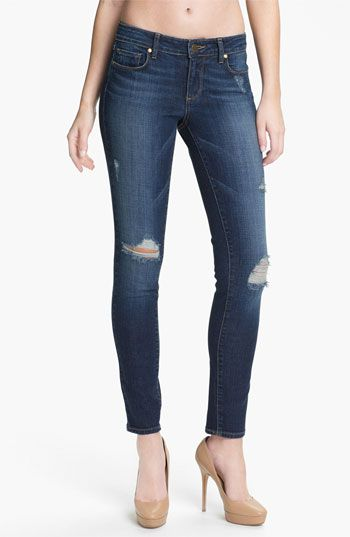 Paige 'Verdugo' Stretch Skinny Jeans (Decker) available at #Nordstrom