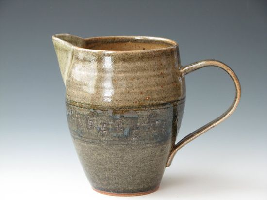 Handmade Pottery Pitcher