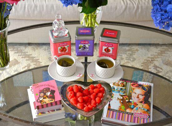 Tea & Fresh Fruit!