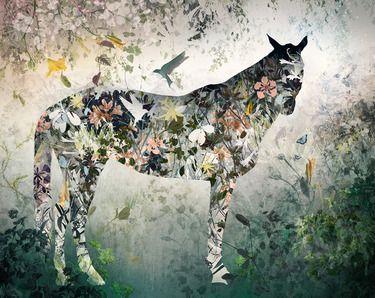 "Saatchi Online Artist Ysabel LeMay; Digital, ""FUSIO, edition 7"" #art"