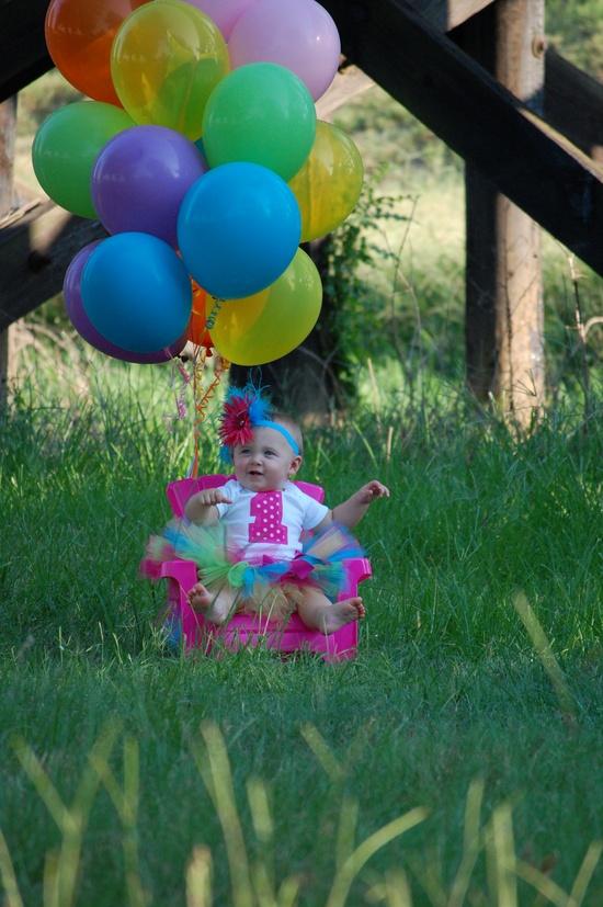 little girls 1st birthday pictures