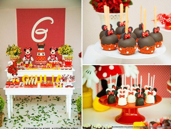 Minnie Mouse Party with Such Cute Ideas via Kara's Party Ideas
