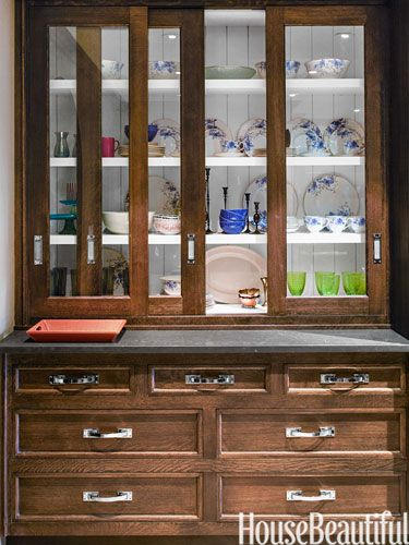#Kitchen of the Year, October 2013. Design: Christopher Peacock. Countertop. Cabinets.