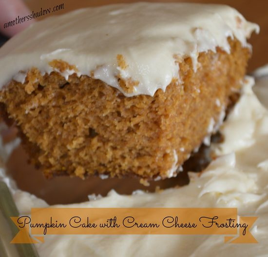 Moist #Pumpkin #Cake at AMothersShadow.com #dessert