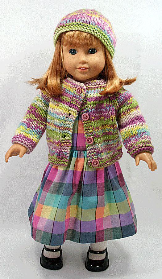 18 American Girl Doll Clothes  Handmade Pastel by LovinglyGrandma,
