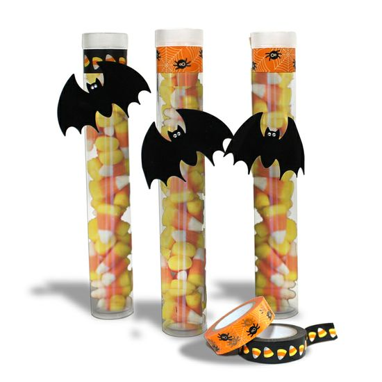 Halloween Candy Party Tubes