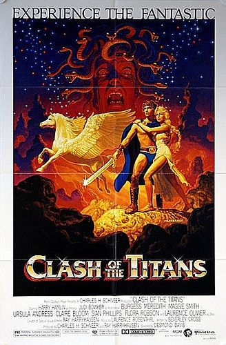 Love the original - Clash of the Titans 1981 Original US One Sheet Film Poster