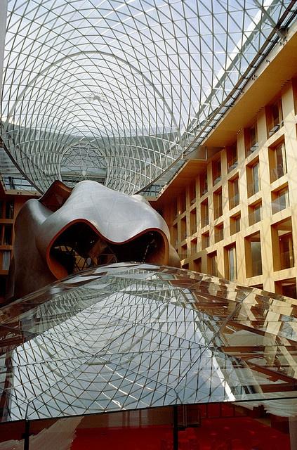 DG Bank (Berlin) interior by Frank Gehry.