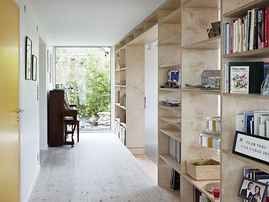 Aluminum Minimalist Interior House Design