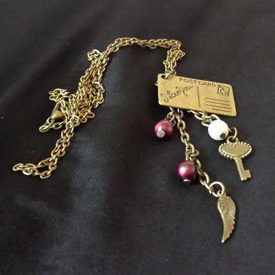 Handmade charm necklace. £8 plus postage.
