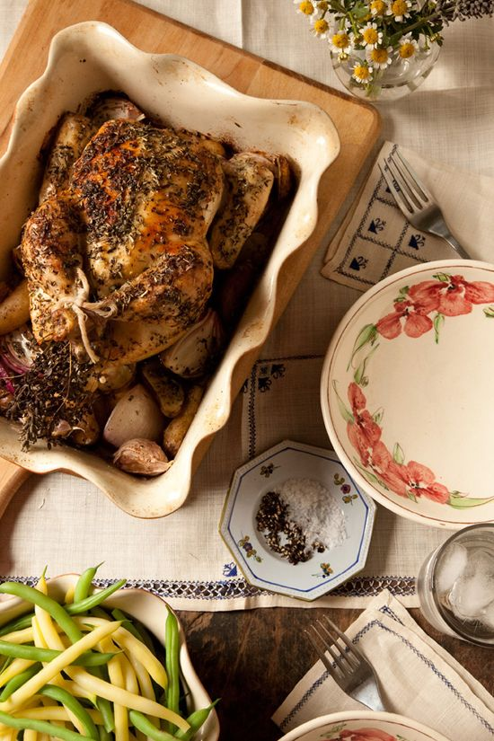 Herbs de Provence Roast Chicken