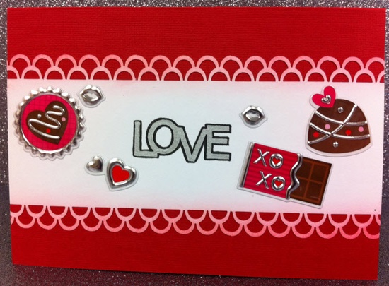A.C. Moore Valentine's Day Cards 2012 #cardmaiking #valentine