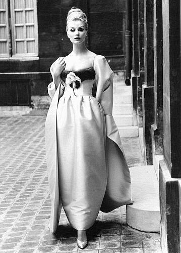 1950s. Anne Larsen in Nina Ricci by John French.