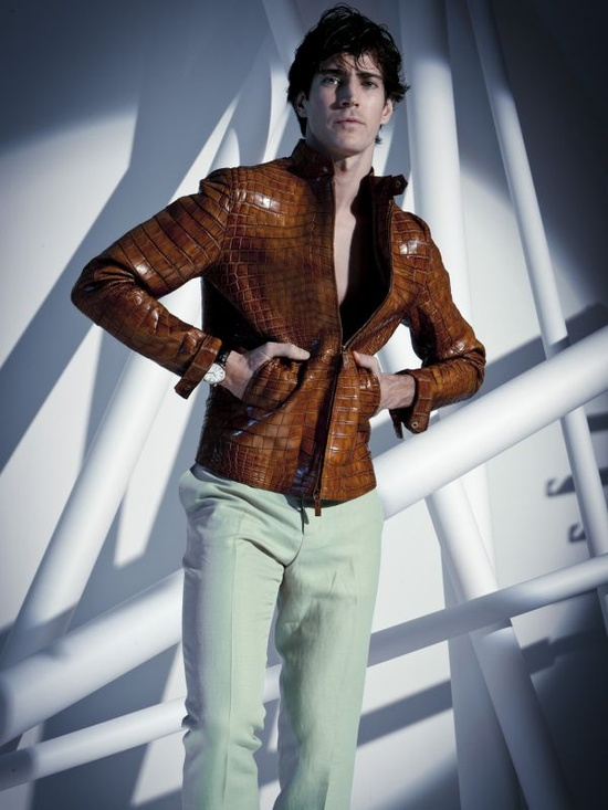 Say hello to your new statement jacket from Giorgio #Armani