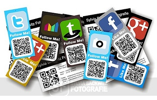 QR Code personal cards