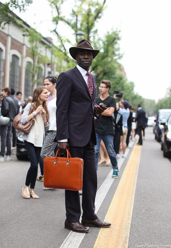 Mens Street Style Milan