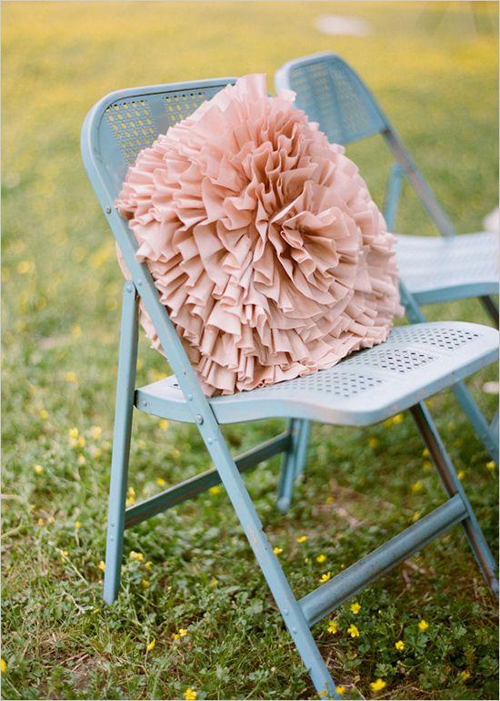 vintage furniture rentals in pastel hues