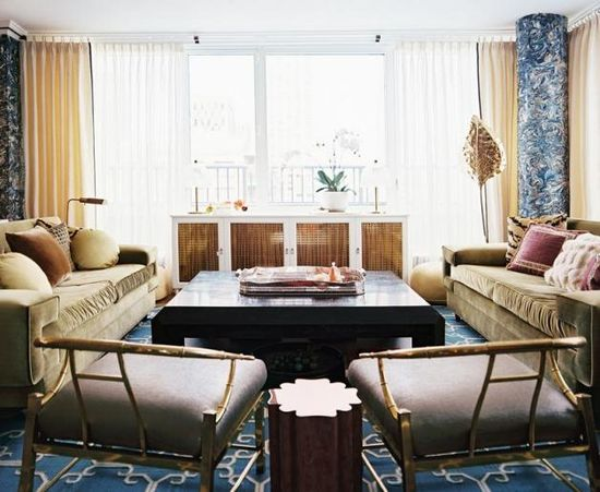 brass, velvet and luxe