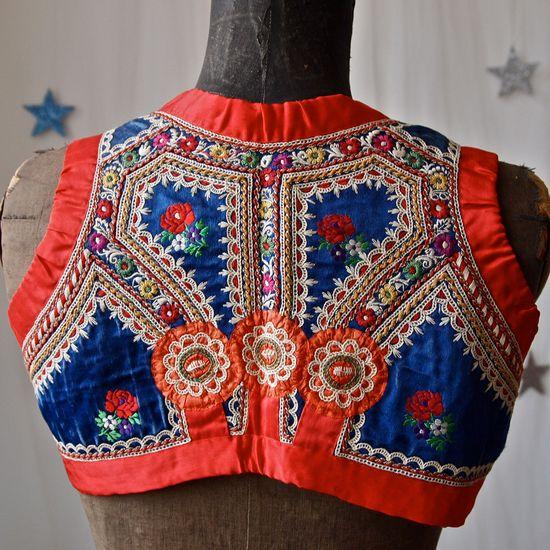 Czech Moravian Elaborately embroidered boys vest
