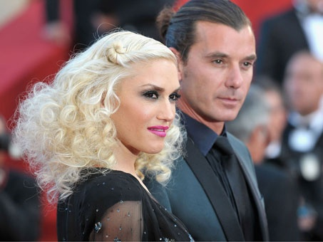 Gwen Stefani and hubby Gavin Rossdale attend The Tree Of Life premiere.
