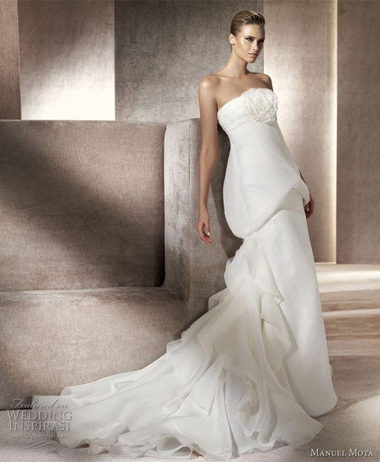manuel mota primavera 2012 wedding dress