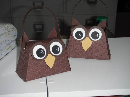 Stampin' Up!  Petite Purse Owl