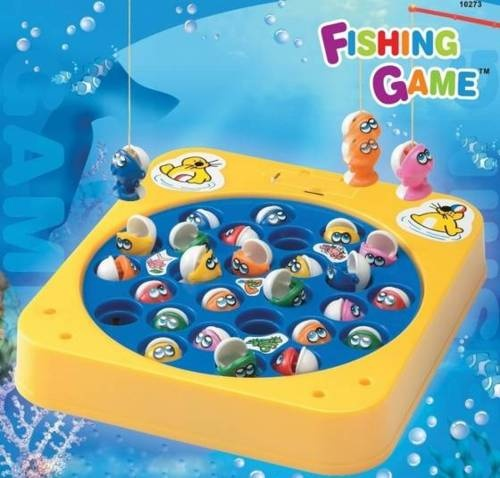 electronic toys fishing game was tons of fun i