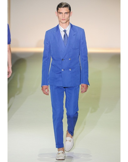 Milan Men's Fashion Week Spring 2013 Trends - Colors of the Rainbow. Follow Sneak Outfitters for the latest trend reports on men's fashion. www.sneakoutfitte...
