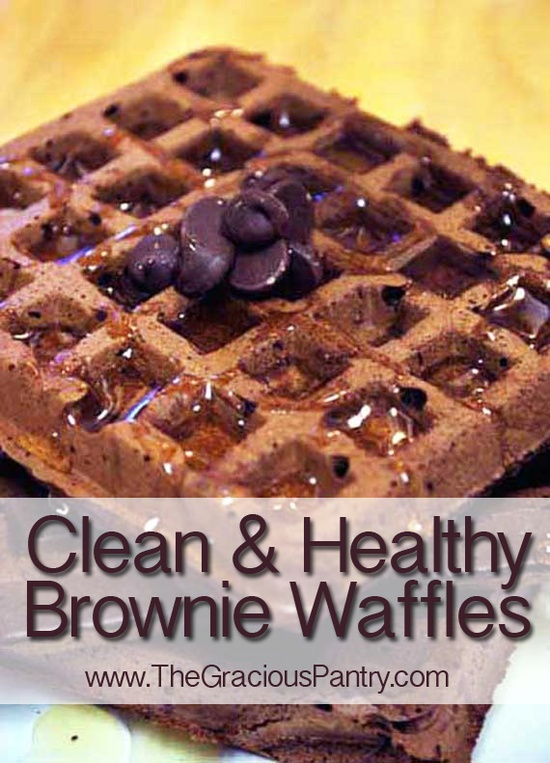 Brownies for breakfast! I swear!  #cleaneating #eatclean #cleaneatingrecipes #freezermeals #freezerrecipes