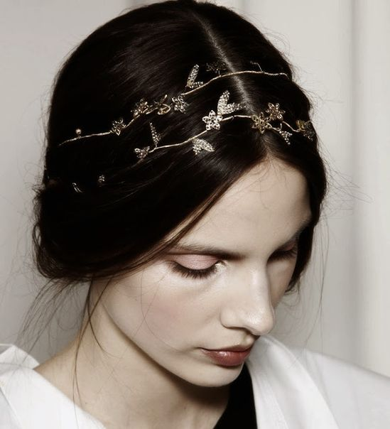 delicate hair accessories