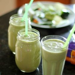 How to be health guide Glenda: Skinny Green Monster Smoothie by ...