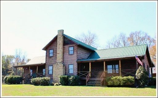 Log Home Decorating - Before and After #home decorating