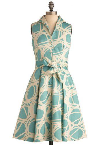 Oh, what a pretty dress...
