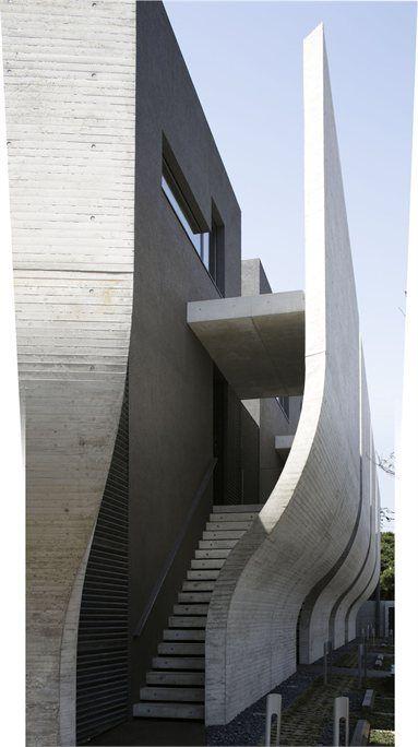 Breeze - Setagaya, #Japan - 2012 - Kotaro Ide #architecture #japan #concrete