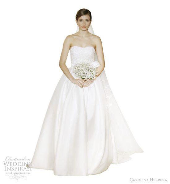 carolina herrera 2012 wedding dresses