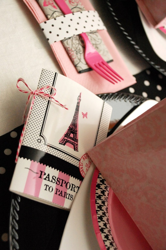 Glamorous PARIS Birthday Party  Personalized by andersruff on Etsy, $18.00