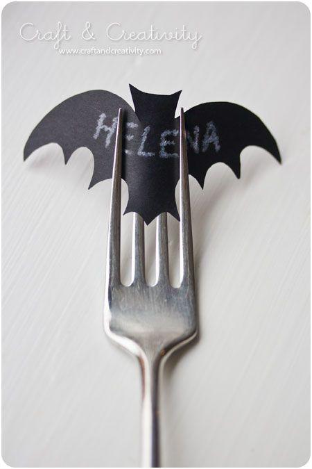 bat placecard