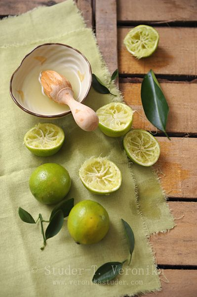 Gorgeous photo of limes being squeezed by my friend and professional photographer Vera. #food #stills #photography