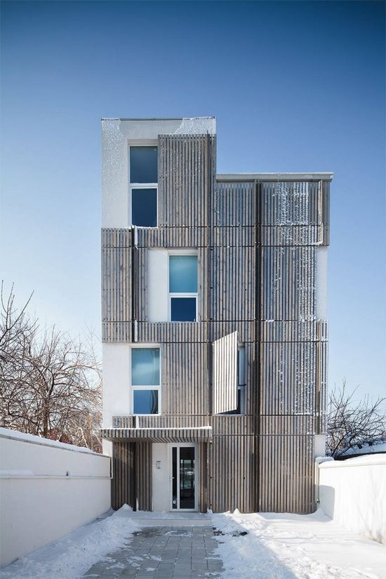 Residential Building in Bucharest / Synthesis Architecture