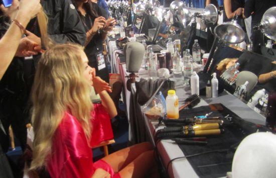 Victoria's Secret Models Backstage Diet