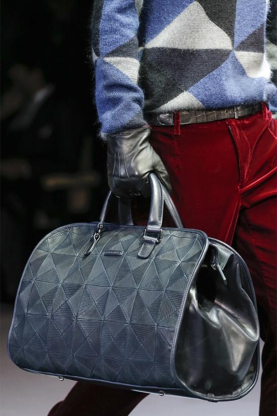 Giorgio Armani Fall/Winter Men's Bag Collection 2013
