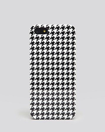 Audiology iPhone 5 Case - Exclusive Small Scale Houndstooth Check