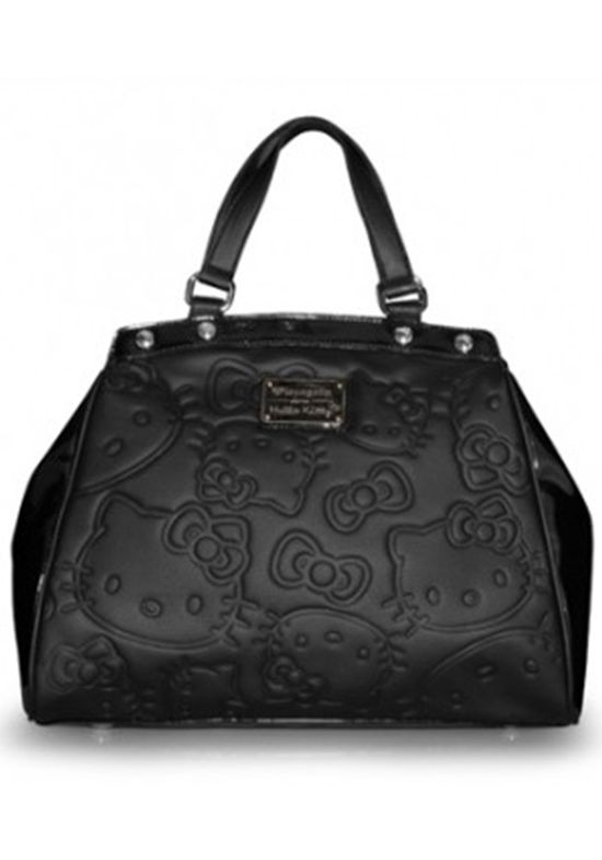Loungefly Hello Kitty Embossed Bow Face Print Bag - Bags - Accessories