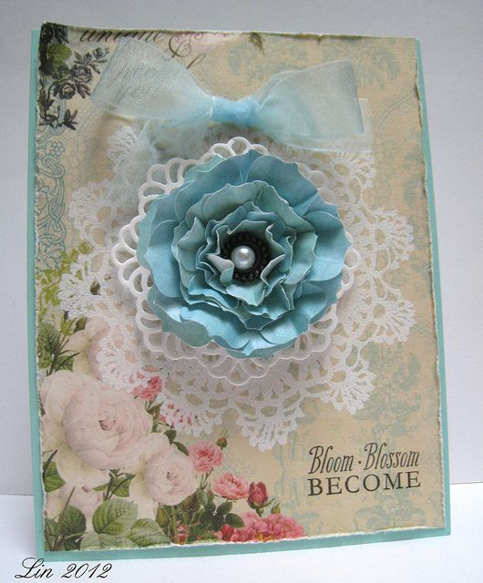 Doilies and Lace by quilterlin, via Flickr