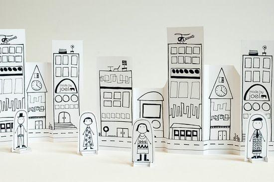 print a paper city