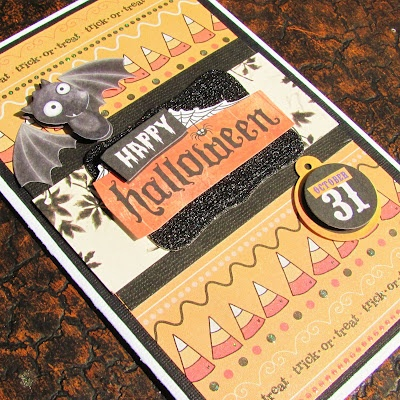 Handmade Halloween Cards ~ Sincerely, Paula/PaperCrushCrafts
