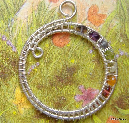 Circles of Life pendant. $54,00, via Etsy.