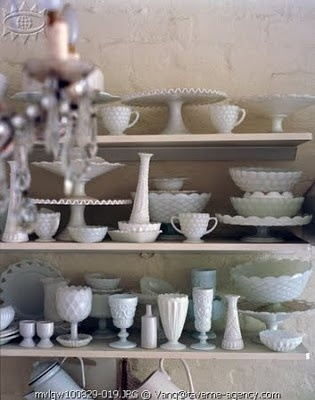 Milk glass collection...love it!