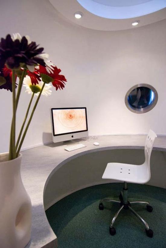 Inspiring clean home office design