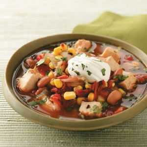 Hearty Chipotle Chicken Soup-and it's healthy, too!